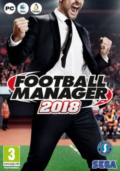 Jaquette de Football Manager 2018 PC