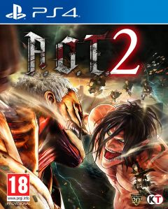 Jaquette de Attack on Titan 2 PS4