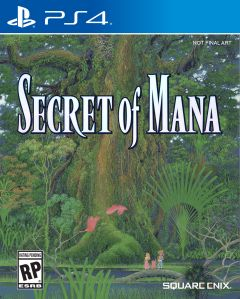 Jaquette de Secret of Mana PS4
