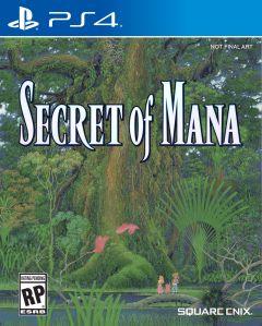Jaquette de Secret of Mana PS4