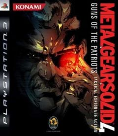 Jaquette de Metal Gear Solid 4 : Guns of the Patriots PlayStation 3