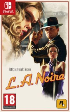 Jaquette de L.A. Noire Nintendo Switch