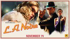 Jaquette de L.A. Noire PS4