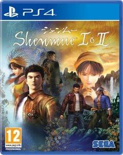 Jaquette de Shenmue I & II PS4