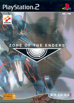 Jaquette de Zone of the Enders PlayStation 2