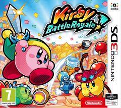 Jaquette de Kirby : Battle Royale Nintendo 3DS