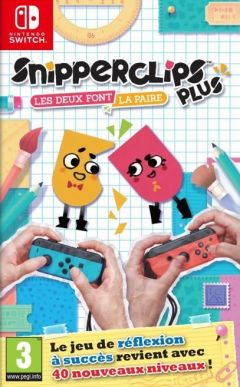 Jaquette de Snipperclips Plus : Cut It Together ! Nintendo Switch