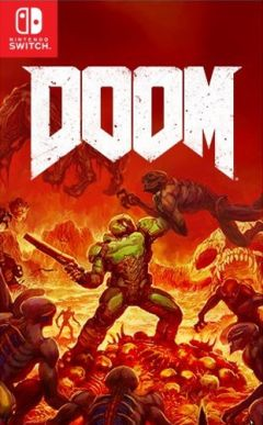Jaquette de DOOM Nintendo Switch
