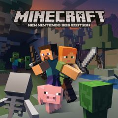 Jaquette de Minecraft : New Nintendo 3DS Edition New Nintendo 3DS