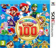 Jaquette de Mario Party : The Top 100 Nintendo 3DS