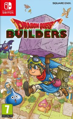 Jaquette de Dragon Quest Builders Nintendo Switch