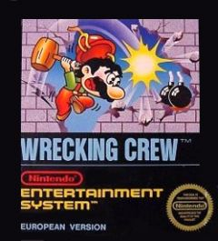 Jaquette de Wrecking Crew NES