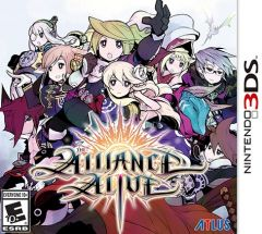 Jaquette de The Alliance Alive Nintendo 3DS