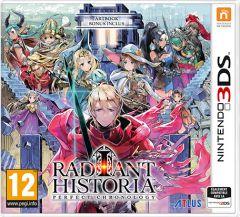 Jaquette de Radiant Historia : Perfect Chronology Nintendo 3DS