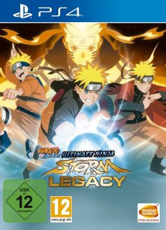 Jaquette de Naruto Shippuden : Ultimate Ninja Storm Legacy PS4