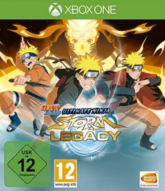 Jaquette de Naruto Shippuden : Ultimate Ninja Storm Legacy Xbox One