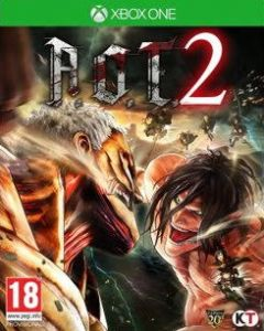 Jaquette de Attack on Titan 2 Xbox One