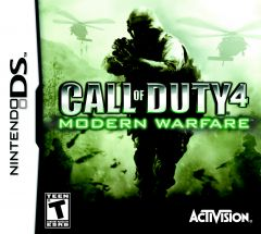 Jaquette de Call of Duty 4 : Modern Warfare DS