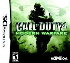 Jaquette de Call of Duty 4 : Modern Warfare DS