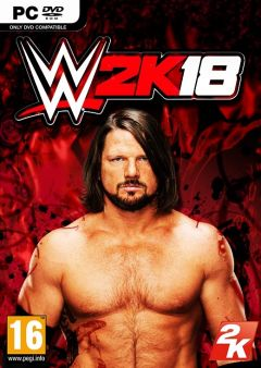 Jaquette de WWE 2K18 PC