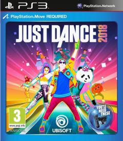 Jaquette de Just Dance 2018 PlayStation 3