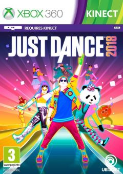 Jaquette de Just Dance 2018 Xbox 360