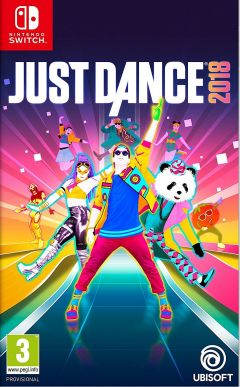 Jaquette de Just Dance 2018 Nintendo Switch