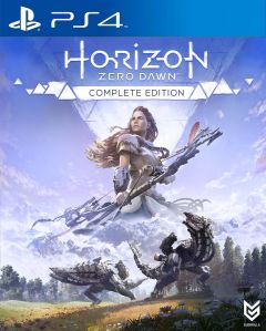 Jaquette de Horizon Zero Dawn Complete Edition PS4
