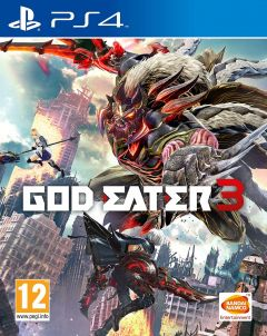 Jaquette de God Eater 3 PS4