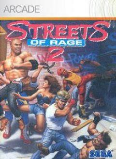 Jaquette de Streets of Rage II Xbox 360