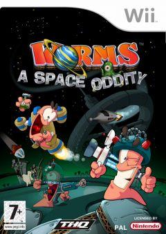 Jaquette de Worms : L'Odyssée Spatiale Wii
