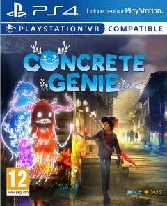 Jaquette de Concrete Genie PS4