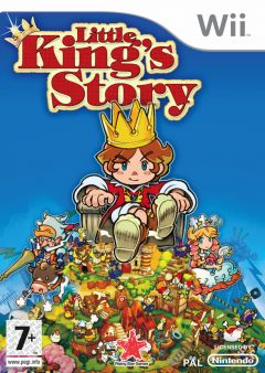 Jaquette de Little King's Story Wii