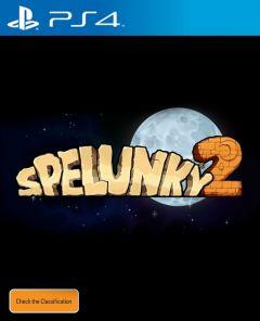 Jaquette de Spelunky 2 PS4