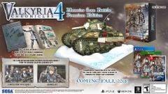 Jaquette de Valkyria Chronicles 4 PS4