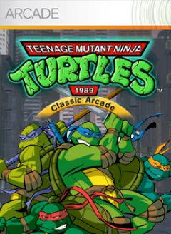 Jaquette de Teenage Mutant Ninja Turtles Arcade (2018) Arcade