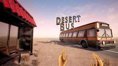 Jaquette de Desert Bus VR Oculus Rift