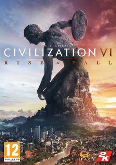 Jaquette de Sid Meier's Civilization VI: Rise and Fall PC