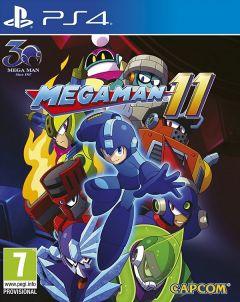Jaquette de Mega Man 11 PS4