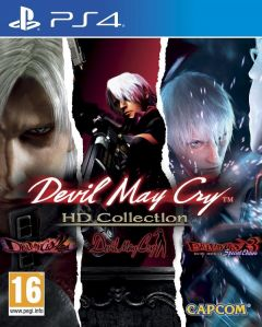 Jaquette de Devil May Cry HD Collection PS4