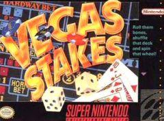 Jaquette de Vegas Stakes Super NES
