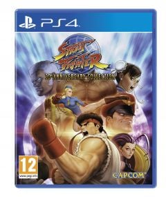 Jaquette de Street Fighter 30th Anniversary PS4