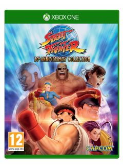 Jaquette de Street Fighter 30th Anniversary Collection Xbox One
