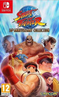 Jaquette de Street Fighter 30th Anniversary Collection Nintendo Switch