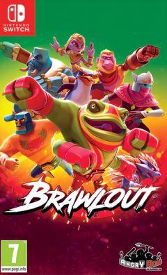 Jaquette de Brawlout Nintendo Switch