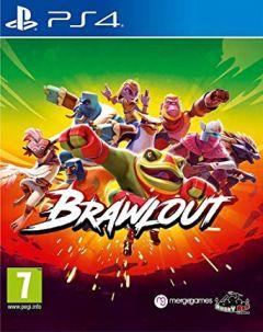 Jaquette de Brawlout PS4