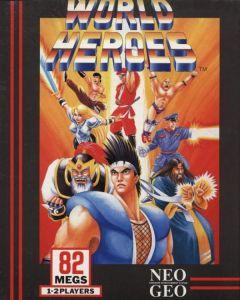 Jaquette de World Heroes NeoGeo