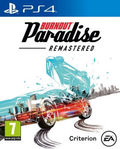 Jaquette de Burnout Paradise Remastered PS4