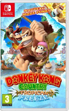 Jaquette de Donkey Kong Country Tropical Freeze Nintendo Switch