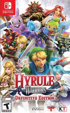 Jaquette de Hyrule Warriors Definitive Edition Nintendo Switch